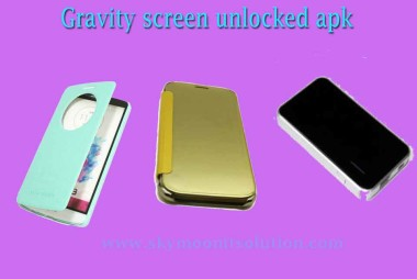 Gravity-screen-unlocked