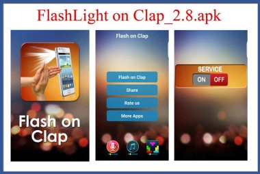 FlashLight-on-Clap
