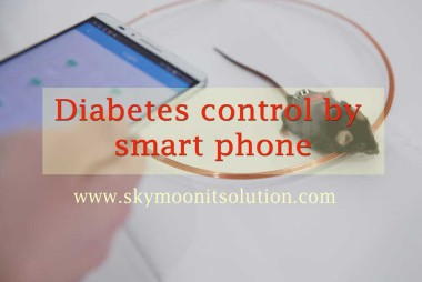 diabetes-control-by-smart-phone