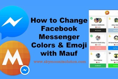 how-to-change-facebook-massenger-color-and-emoji